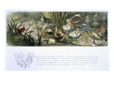 Water-Lilies and Water Fairies Giclee Print by Richard Doyle
