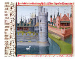 Life of Louis II Giclee Print by Jean Fouquet