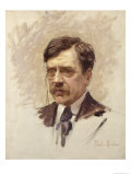 Paul Bourget Giclee Print by Paul Chabas
