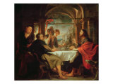 Supper at Emmaus Giclee Print by Peter Paul Rubens