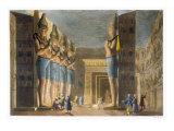 Temple of Ramesses II Giclee Print by G. Bramati