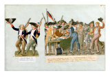Happy Departure of the Army Volunteers Giclee Print by Le Sueur Brothers