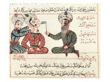 Cauterisation of Scrofula, 1466 Giclee Print by Charaf-ed-din 