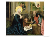 The Birth of Christ Giclee Print by Hans Leonard Schaufelein