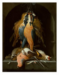 Still Life of Birds Giclee Print by Abraham Mignon