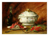 Still Life with a Soup Tureen Giclee Print by Guillaume Romain Fouace