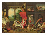 Allegory of Taste Giclee Print by Jan van Kessel