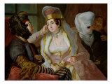 Maltese Women Giclee Print by Antoine de Favray