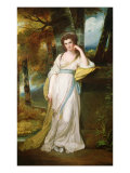 Portrait of Mrs. Henry Maxwell Giclee Print by George Romney