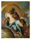 The Creation of the World Giclee Print by Eustache Le Sueur