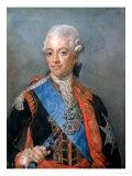King Gustav III Giclee Print by Gustav Lundberg
