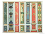 Panel Designs, Plate XII, Modern Ornament, c.1900 Giclee Print by H.summerfield Rogerson