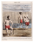 Man, the King of Creation Giclee Print by Honore Daumier