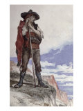 Smuggler in the Pyrenees Giclee Print by Georges Clairin
