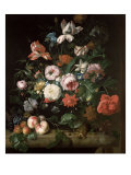 Still Life with Flowers Giclee Print by Rachel Ruysch