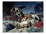 The Death of Ravana, 1875 Giclee Print by Fernand Cormon