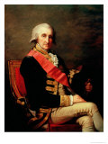 Admiral George Brydges Rodney Giclee Print by Jean Laurent Mosnier