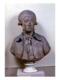 Bust of Marie Jean Antoine Nicolas de Caritat Giclee Print by Jean-Antoine Houdon