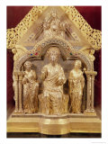 Our Lady&#39;s Shrine of Notre-Dame de Tournai, Gabled End Depicting Christ in Majesty, 1205 Giclee Print by Nicholas of Verdun 