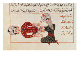 Operation For Castration, 1466 Giclee Print by Charaf-ed-din 