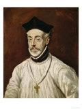 Don Diego de Covarrubias Y Leiva Giclée-trykk av  El Greco