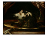The Head of St. John the Baptist Giclee Print by Francesco Del Cairo