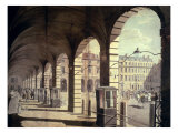 Covent Garden: Piazza Giclee Print by Paul Sandby