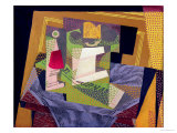 Composition on a Table, 1916 Giclee Print by Juan Gris