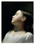 Young Girl Sleeping, 1852 Giclee Print by Leon Joseph Florentin Bonnat