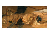 Arabs in the Desert, 1871 Giclee Print by Frederick Goodall