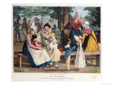 The Nannies, 1820 Giclee Print by John James Chalon