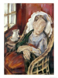 The Convalescent, 1930 Giclee Print by Maria Blanchard