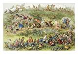 Triumphal March of the Elf-King Lámina giclée por Richard Doyle