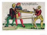 Apparatus For Healing Arm Fractures, Feldtbuch Der Wundartzney Hans Von Gersdorff, c.1540 Giclee Print by Hans Or Johannes Ulrich Wechtlin