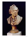 Bust of Christoph Wilibald Von Gluck Giclee Print by Jean-Antoine Houdon