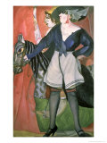 Circus Scene, 1917 Giclee Print by Boris Dmitrievich Grigoriev