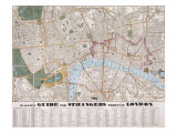 Wallis's Guide For Strangers Through London, 1841 Giclee Print by Edward Wallis