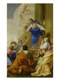 Venite as Me Omnes Giclee Print by Eustache Le Sueur