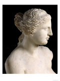 Venus de Milo, Detail of the Head, Hellenistic Period, c.100 BC Giclee Print by  Greek