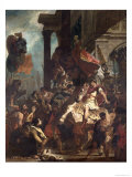 The Justice of Trajan Giclee Print by Eugene Delacroix