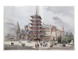 The World Tour at the Universal Exposition of 1900, Paris Giclee Print by Henri Toussaint