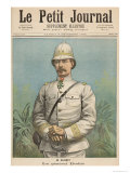General Alfred Amedee Dodds Giclee Print by Henri Meyer