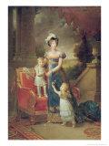 Marie-Caroline de Bourbon Giclee Print by Francois Pascal Simon, Baron Gerard
