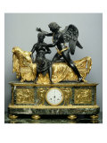 Cupid and Psyche Mantlepiece Clock, 1799 Giclee Print by Pierre Philippe Thomire
