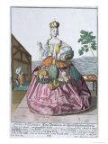 The Glovemaker's Wife, c.1735 Giclee Print by Martin Engelbrecht