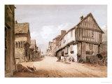 High Street, Conway Giclee Print by John Varley