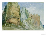 Goodrich Castle, Herefordshire Giclee Print by William Callow