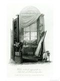 Design For Gercian Furniture Giclee Print by John Buonarotti Papworth