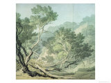 View Near Fordlands, Exeter Giclee Print by John White Abbott
