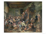 The Egg Dance Giclee Print by Jan Havicksz. Steen
